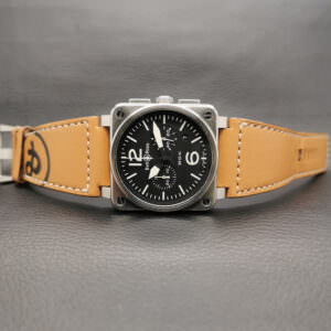 Bell & Ross Aviation Steel Chronograph