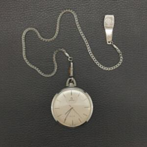 Omega Deville Vintage Pocket Watch 44 mm Manual Winding